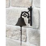 une cloche de portail ou de porte pour vous alerter de la présence de vos visiteurs