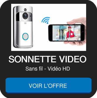 sonnette sans fil avec caméra HD